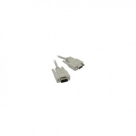 CablesToGo 3m HD15 M/F SVGA Cable
