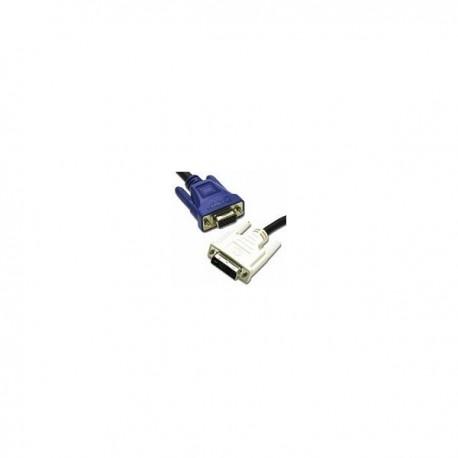 CablesToGo 2m DVI-A M / HD15 M Cable