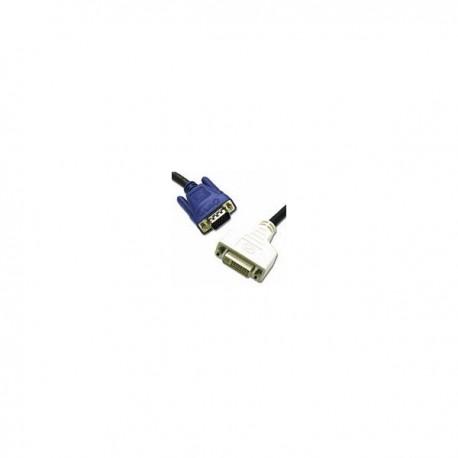 CablesToGo 2m DVI-A FM / HD15 M Cable