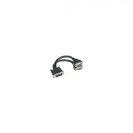 CablesToGo LFH-59 Male to 2 VGA Female Cable
