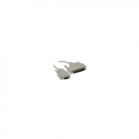 CablesToGo 2m DB9 F/DB25 M Cable