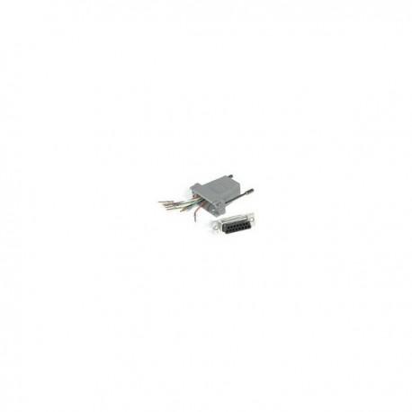 CablesToGo RJ45 / DB15M Modular Adapter