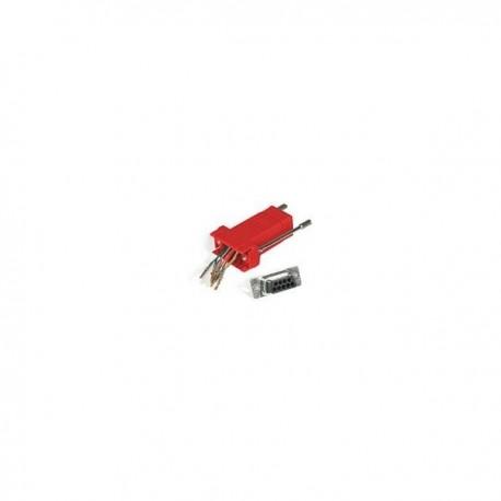 CablesToGo RJ45/DB9F Modular Adapter