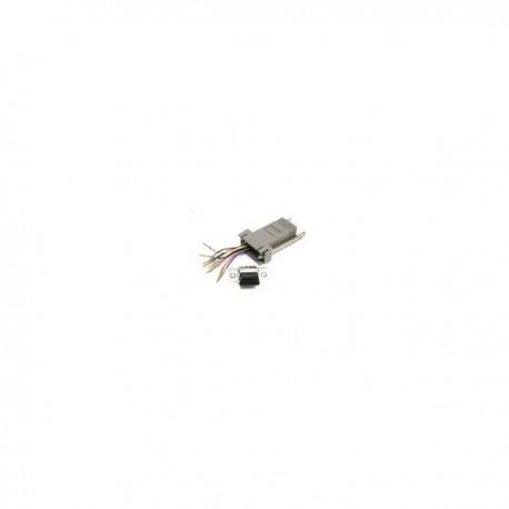 CablesToGo 10-pin RJ45/DB9F Modular Adapter