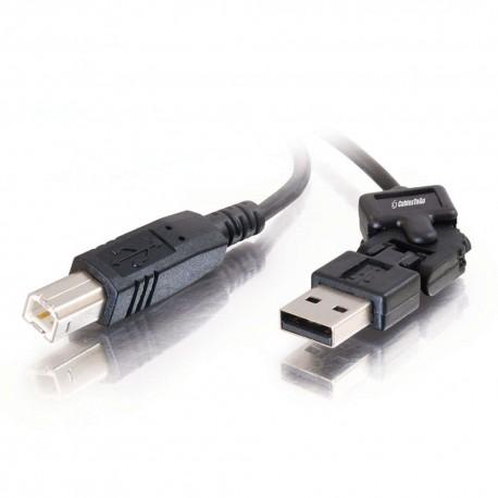 CablesToGo 2m FlexUSB™ USB 2.0 A/B Cable