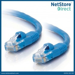 C2G 2m Cat5e Booted Unshielded (UTP) Network Patch Cable - Blue