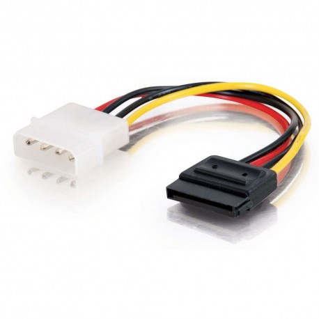 CablesToGo 0.15m Serial ATA (SATA) Power Adapter Cable