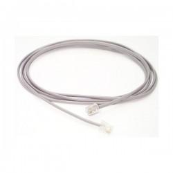 StarTech.com 25 ft RJ11 Telephone Modem Cable