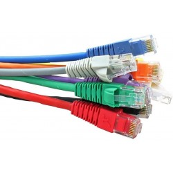 Snagless Booted Cat5e RJ45 Patch Cables