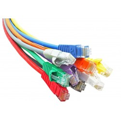 Cat6 Snagless Booted LSOH UTP RJ45 Patch Leads
