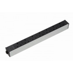 UK Socket Rack PDU - With IEC C14 Plug