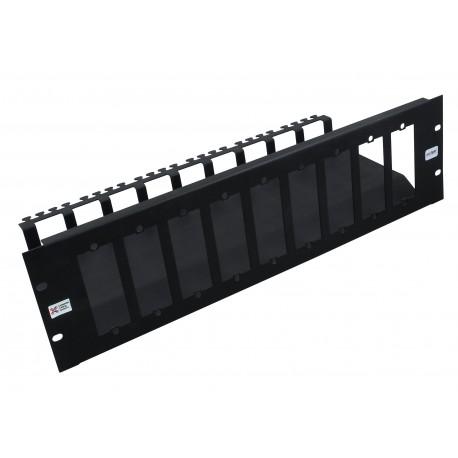 3u 10 Slot Unloaded Modular MTP Cassette Patch Panel