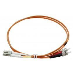 LC - ST Duplex Fibre Patch Cables