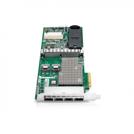 HP Smart Array P812/1G FBWC 2-ports Int/4-ports Ext PCIe x8 SAS Controller