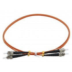ST - ST Duplex Fibre Patch Cables