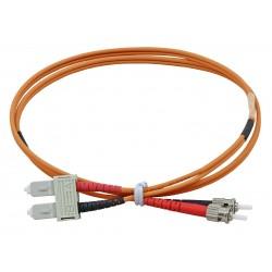 SC - ST Duplex Fibre Patch Cables