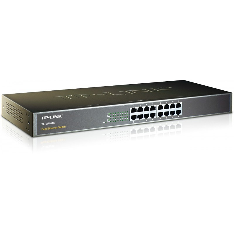tp link 16 port 10 100mbps fast ethernet switch. Black Bedroom Furniture Sets. Home Design Ideas