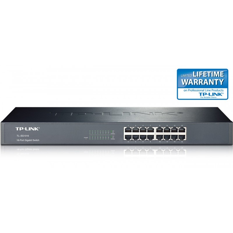 tp link 16 port gigabit switch. Black Bedroom Furniture Sets. Home Design Ideas