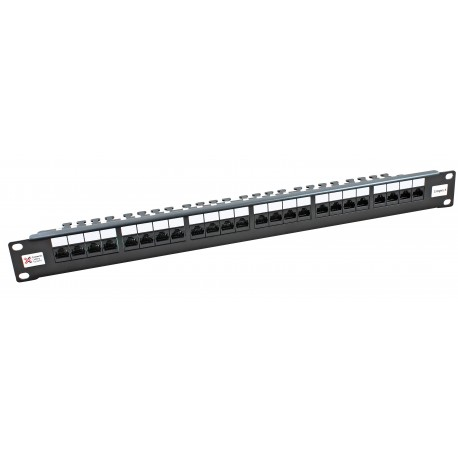 24 Port Cat6 CCS 2020 Right Angled UTP Patch Panel