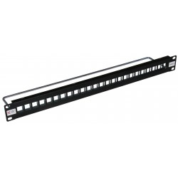 24 Way FTP Keystone Patch Panel