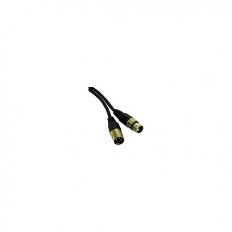 CablesToGo 3m Pro-Audio XLR M / F
