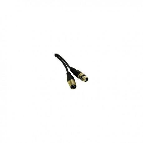 CablesToGo 15m Pro-Audio XLR Male To XLR Female