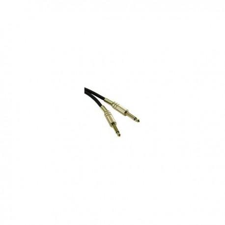 CablesToGo 0.5m Pro-Audio 6.3mm Cable M/M