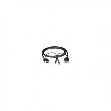 CablesToGo 7m Monitor Cable + 3.5mm Audio