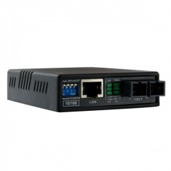 StarTech.com 10/100 Ethernet to Multi Mode Fibre Media Converter SC 2 km