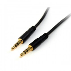 StarTech.com 6 ft Slim 3.5mm Stereo Audio Cable - M/M