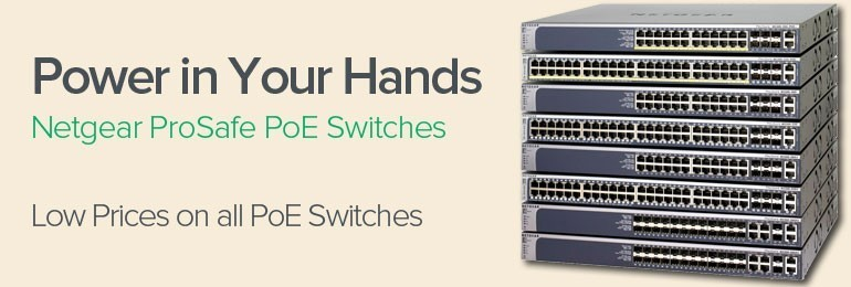 Netgear PoE Switches
