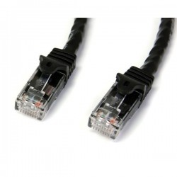 StarTech.com 10m Black Gigabit Snagless RJ45 UTP Cat6 Patch Cable - 10 m Patch Cord