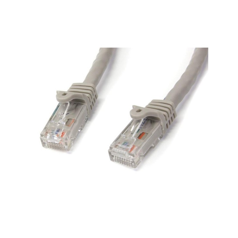 StarTech.com 15m White Gigabit Snagless RJ45 UTP Cat6 Patch Cable Cat 6 Patch Cable 15 m Patch Cord
