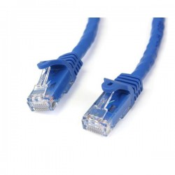StarTech.com 2m Blue Gigabit Snagless RJ45 UTP Cat6 Patch Cable - 2 m Patch Cord