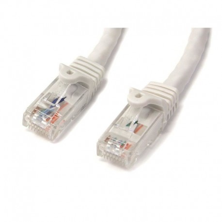 3m White Gigabit Snagless RJ45 UTP Cat6 Patch Cable - 3 m Patch Cord
