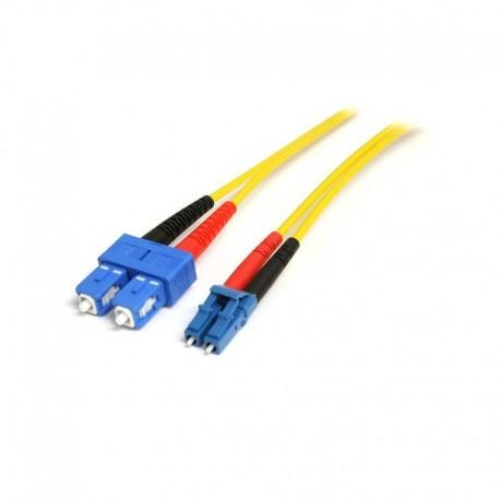 10m Single Mode Duplex Fiber Patch Cable LC-SC