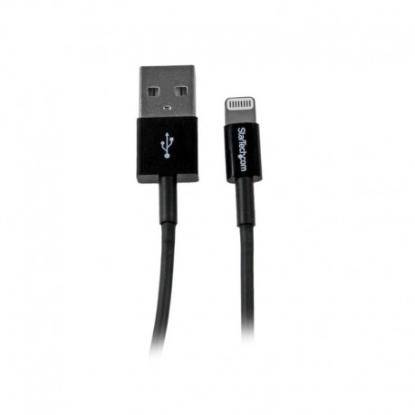 1m (3ft) Black Apple® 8-pin Slim Lightning Connector to USB Cable for iPhone / iPod / iPad