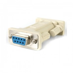 StarTech.com DB9 RS232 Serial Null Modem Adapter - F/F