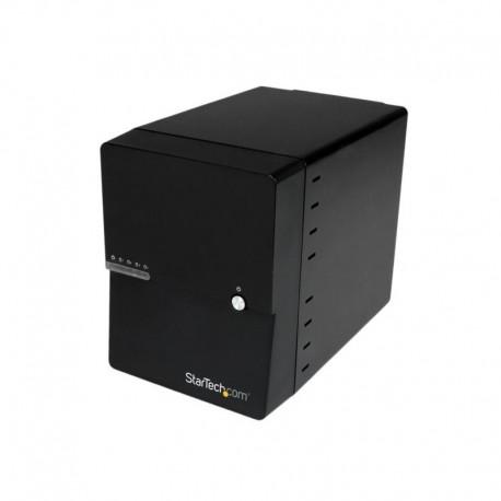 USB 3.0 / eSATA 4-Bay 3.5in SATA III Hard Drive Enclosure w/ built-in HDD Fan & UASP – SATA 6Gbps