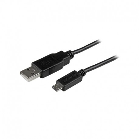 2m Mobile Charge Sync USB to Slim Micro USB Cable for Smartphones and Tablets - A to Micro B