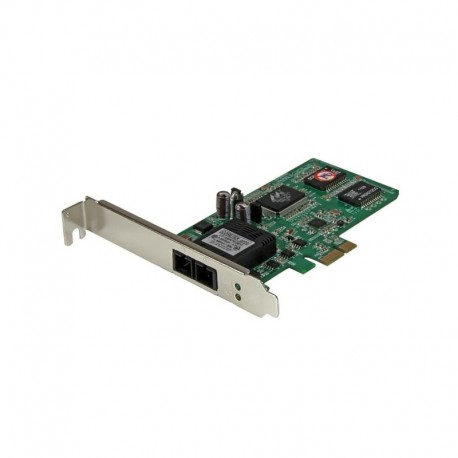 PCI Express (PCIe) Gigabit Ethernet Multimode SC Fiber Network Card Adapter NIC - 550m