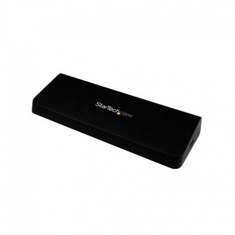 Universal USB 3.0 4K Laptop Docking Station w/ 4K DisplayPort - USB Fast-Charge Port, USB 3.0, GbE - DP / HDMI Dual Video