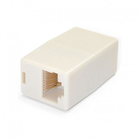 Cat5e RJ45 Modular Inline Coupler - 10 Pack