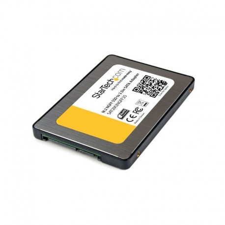 M.2 SSD to 2.5in SATA III Adapter – NGFF Solid State Drive Converter with Protective Housing