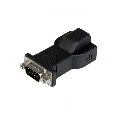 1 Port USB to RS232 DB9 Serial Adapter with Detachable 6ft USB A to B Cable
