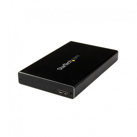 USB 3.0 Universal 2.5in SATA III or IDE Hard Drive Enclosure with UASP - Portable External SSD / HDD
