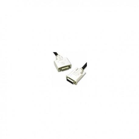 CablesToGo 2m DVI-I M/F Dual Link Cable