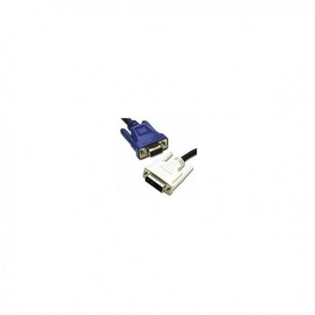 CablesToGo 3m DVI-A M / HD15 M Cable