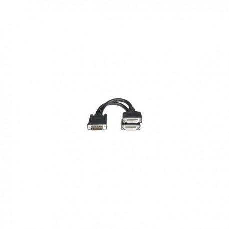 CablesToGo LFH-59 M / 2 DVI-I F Cable 0.2m