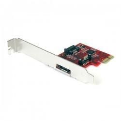 StarTech.com 1x eSATA + 1x SATA 6 Gbps PCI Express SATA Controller Card Adapter